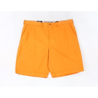 Tommy Hilfiger NEW Orange Men's Size 38 Classic-Fit Chinos Shorts
