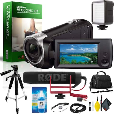 Sony Handycam Complete Vlogging Equipment Kit