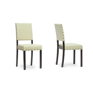 Walter Cream Modern Dining Chair - 2 Chairs