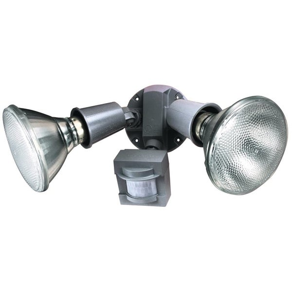 Heath Zenith HZ-5408 2-Light 110 Degree Motion Activated Security Flood Light - n/a