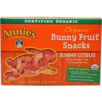 Annie's Homegrown - Sunny Citrus Fruit Snacks ( 12 - 4 OZ)