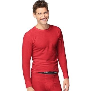 Hanes X-Temp™ Men's Organic Cotton Thermal Crew
