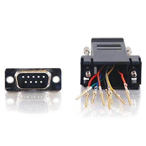 C2g - Serial Adapter - Db-9 (M) - Rj-45 (F) - Black
