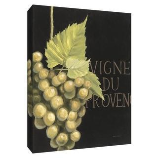 """PTM Images 9-154506  PTM Canvas Collection 10"""" x 8"""" - """"Chateau Nouveau Element VI"""" Giclee Fruits & Vegetables Textual Art Print"""