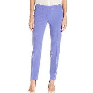 Anne Klein NEW Chicory Purple Women's Size 6 Slim Ankle Dress Pants