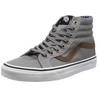 Vans Unisex Sk8-Hi Reissue (Cord & Plaid) Frost Gray Skate Shoe 10.5 Men US /...