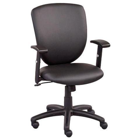 "Copper Grove Shete Faux Leather Office Chair - 24"" x 26"" x 36-40"" - 24"" x 26"" x 36-40"""