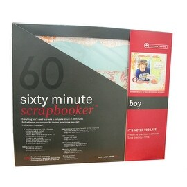 175 Piece 60 Minute Scrapbooker for Boys