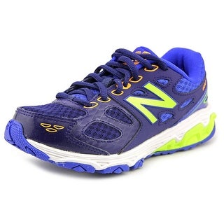 New Balance KR680 Youth Round Toe Synthetic Blue Sneakers