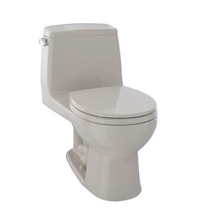 Toto MS853113 Ultimate One Piece Round 1.6 GPF Toilet with G-Max Flush System - Seat Included - N/A