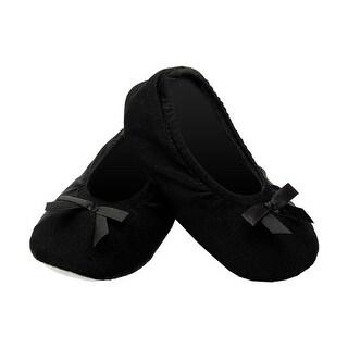 Jacques Moret Girls 4-6X Ballet Slipper - Black