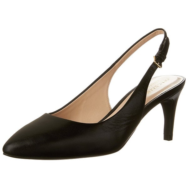 Cole Haan Womens Medora Sling Leather Pointed Toe SlingBack Classic Pumps - 8.5