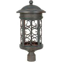 "Designers Fountain 31136-MP 1 Light 11"" Post Lantern from the Dark Sky Barrington Collection"