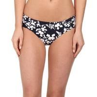 Lole Blue Women's Size Large L Bikini Bottom Printed Swimwear