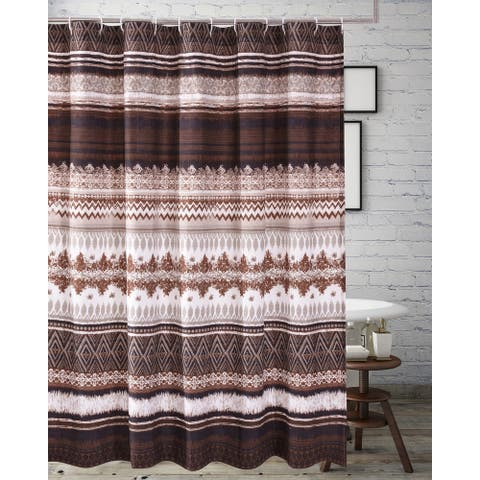Greenland Home Fashions Southwest 72-inch Shower Curtain