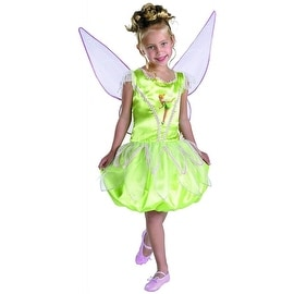 Disney Fairies Tinkerbell Deluxe Girls Costume Size L (10-12)