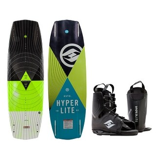 Hyperlite baseline wakeboard - 136 cm with frequency boot 72470274