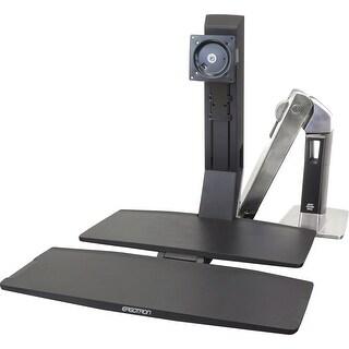 "Ergotron WorkFit Mounting Arm for Flat Panel Monitor - 24"" Screen (Refurbished)"