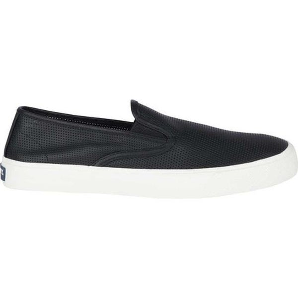 Slip On Sneaker Black Leather