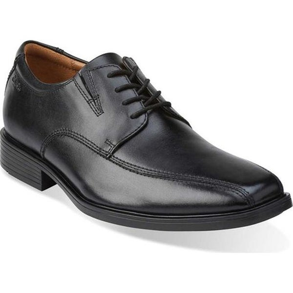 Shop Clarks Men's Tilden Walk Oxford Black Leather On Sale