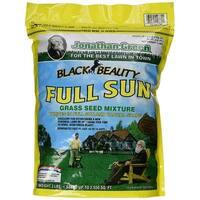 Jonathan Green 10860 Black Beauty Full Sun Grass Seed Mixture, 3 Lb