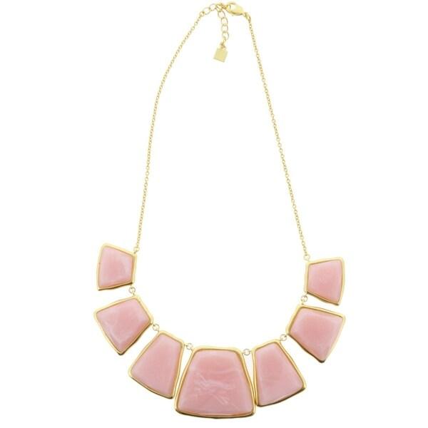 Karen Kane Womens Baja Breeze Statement Necklace Reversible Adjustable