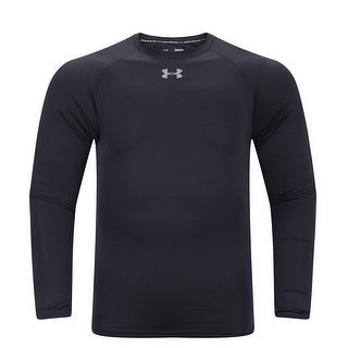 Men's Under Armour 1296936 Heat Gear Armour Compression Long Sleeve Black Small