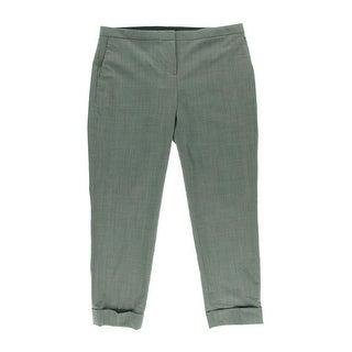 Theory Womens Jin Wool Heathered Dress Pants - 6