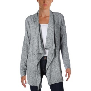 Calvin Klein Performance Womens Cardigan Marled Draped