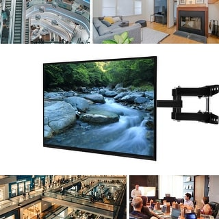 Link to Full Motion Double-arm TV Wall Mount Bracket for 20 to 60-inch Screens - Black Similar Items in TV Mounts & Stands