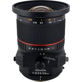 Rokinon Tilt-Shift 24mm f/3.5 ED AS UMC Lens for Canon - Black