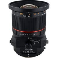 Rokinon Tilt-Shift 24mm f/3.5 ED AS UMC Lens for Canon - black