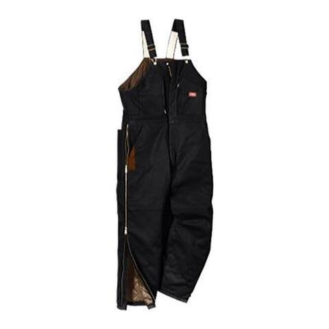 Dickies Men's Premium Insulated Bib Overall Black