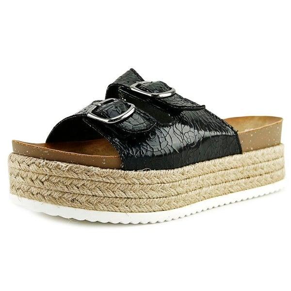 ff5e58fb3707 Patrizia By Spring Step Norah Women Open Toe Synthetic Black Platform Sandal