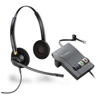 Plantronics EncorePro HW520 with M22 Binaural Noise-Cancelling Headset