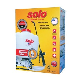 Solo 4 Gl Backpack Sprayer