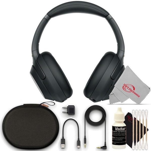 Sony WH-1000XM3 Wireless Noise-Canceling Over-Ear Alexa Voice Headphone Bundle. Opens flyout.
