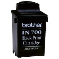 Brother IN700 Brother IN700 Ink Cartridge - Black - Inkjet - 1 Each