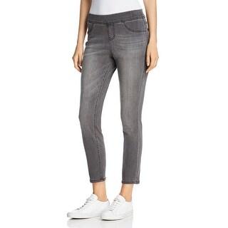 Link to Jag Jeans Marla Women's Elastic Waist Denim Leggings - Cinder Grey Similar Items in Pants