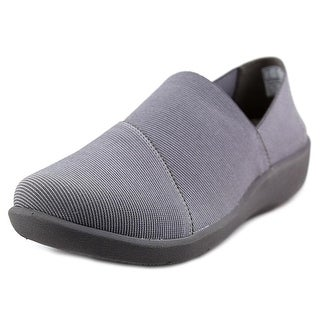 Clarks Sillian Firn Women Round Toe Canvas Gray Loafer