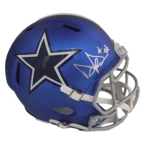 a882719a5 Shop Dak Prescott Autographed Dallas Cowboys Full Size Blaze Replica Helmet  JSA - Free Shipping Today - Overstock - 18086706