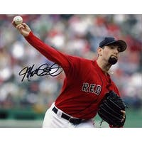 Signed Clement Matt Boston Red Sox 8x10 Photo autographed