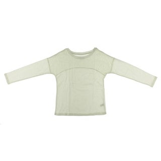 Dream Star Girls French Terry Long Sleeve Pullover Sweater