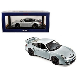 Link to 2007 Porsche 911 GT2 Silver with Black Wheels 1/18 Diecast Model Car by Norev Similar Items in Toy Vehicles