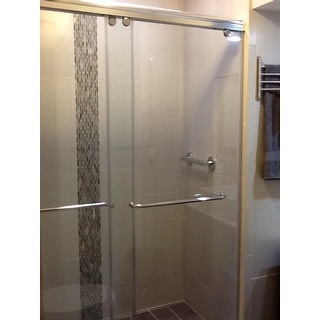Shop Dreamline Charisma Sliding Shower Door 56 60 In W