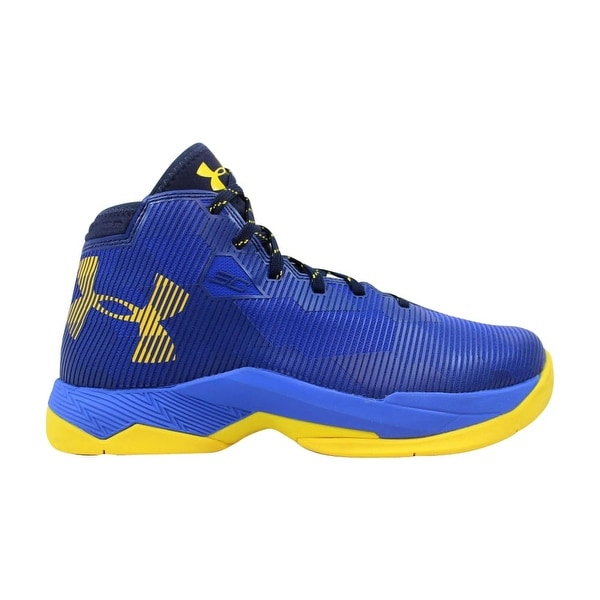 7bc0d67ed7d5 Under Armour GS Curry 2.5 Team Royal Midnight Navy-Taxi Yellow  Grade-School. Click to Zoom