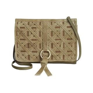 Nanette Lepore Womens Aspen Shoulder Handbag Leather Crossbody - small