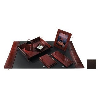 Raika TN 126 BROWN 96 Desk Card Holder - Brown
