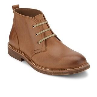 Dockers Mens Tulane Leather Desert Chukka Boot with NeverWet