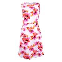 Kasper Women's Floral Printed Dress